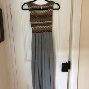 Unique Tribal Maxi Dress